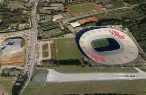 songerie ovale, rugby, ffr, essonne, 91, départ, couloir, infrastructure, stade, club-house, grand stade couvert, stade de rugby