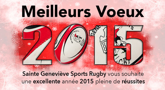 voeux 2015 sgs rugby s