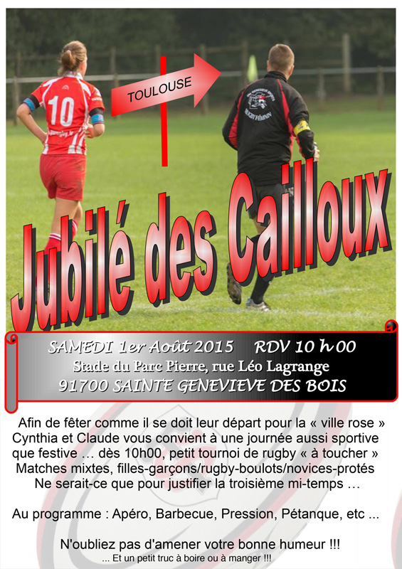 jubile des cailloux sgs rugby