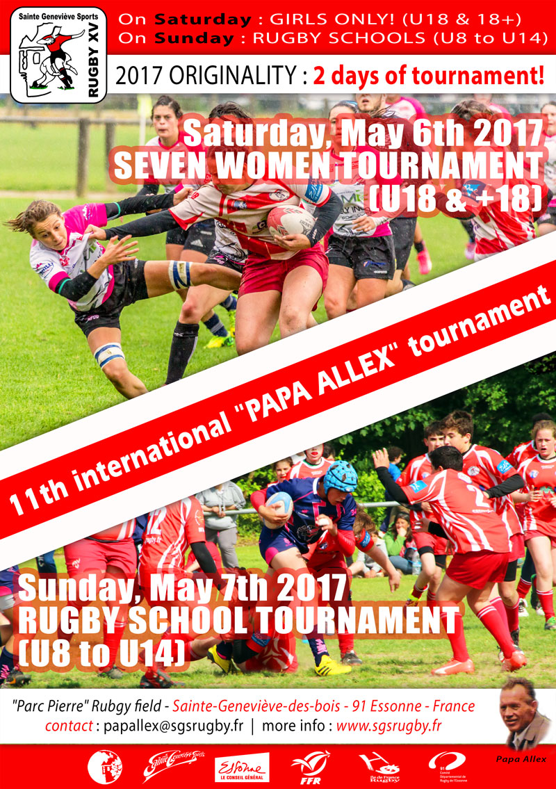 Affiche tournoi Papa Alex 2017 w uk