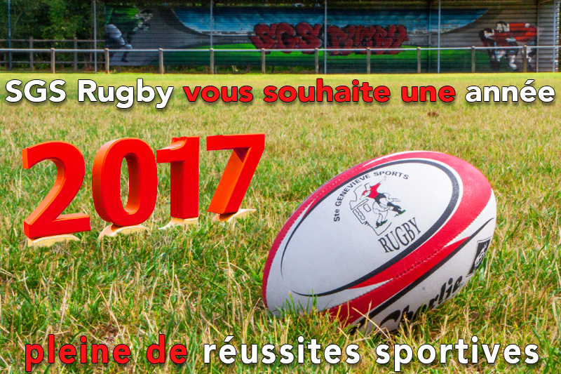 voeux 2017 sgs rugby