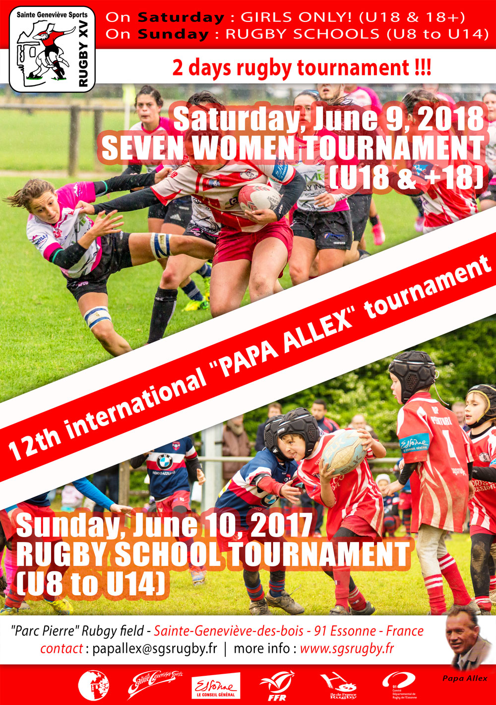 Affiche tournoi Papa Alex 2018 uk