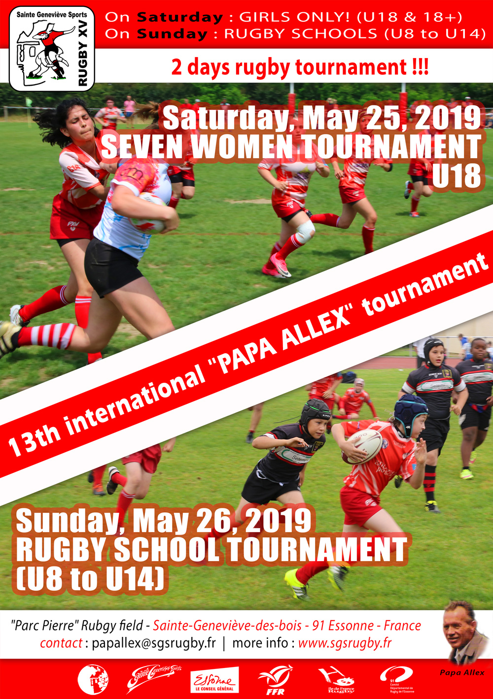 Affiche tournoi Papa Alex 2019 uk