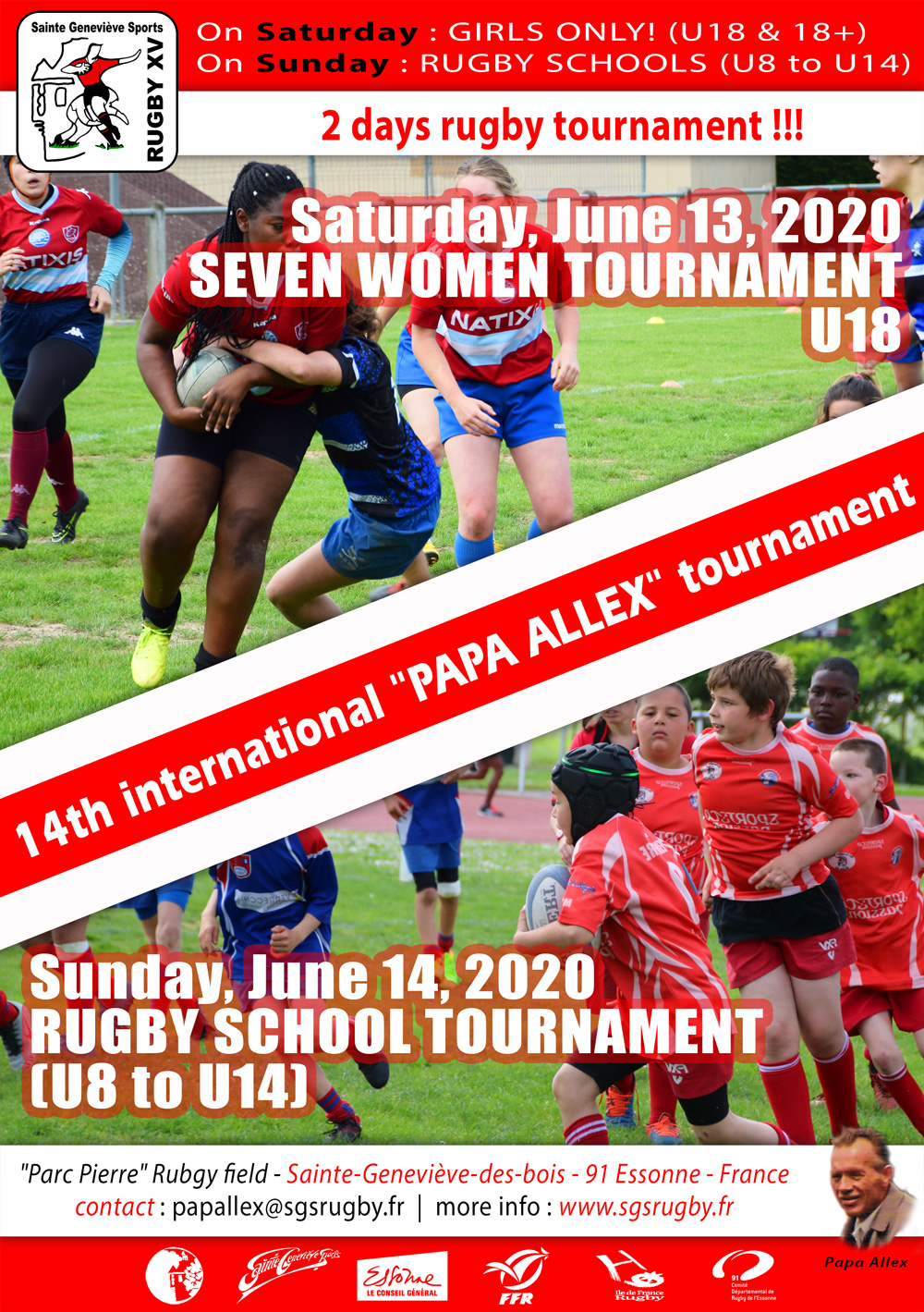 Affiche tournoi Papa Alex 2020 uk