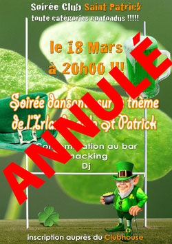 soiree saint patrick sgs rugby annulation